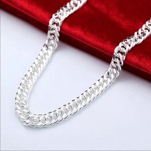 Necklaces for Men 10mm Long Chain Necklace Collier